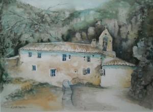 l'Ermitage un lieu sans âge ... 38 x 28 cm n° 26.17 (Copier)